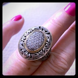 KONSTANTINO ✨ Sterling, 18kt, Diamond Ring